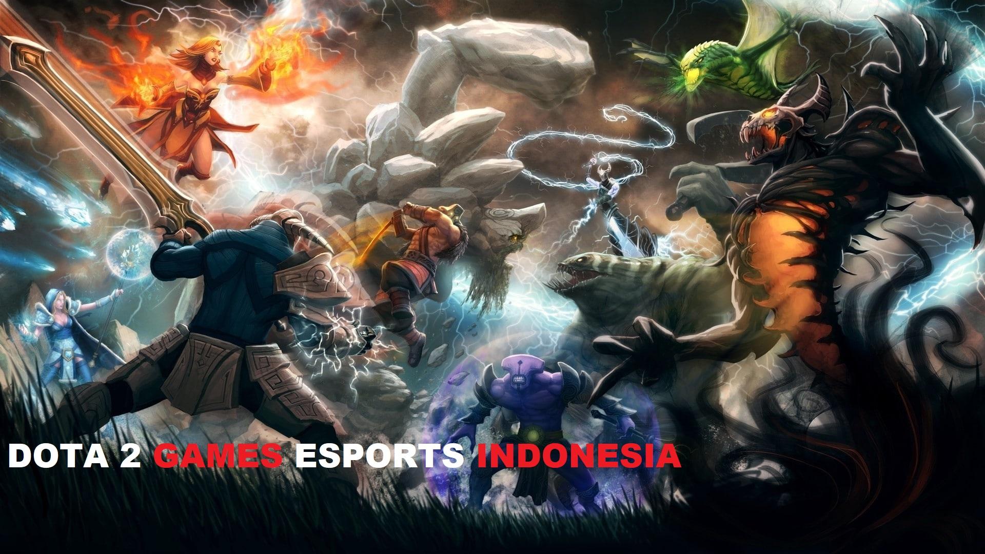 Permainan Esports Terpopuler Dota2